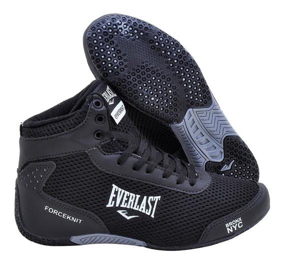 Tênis Botinha Everlast Forceknit Academia Boxe Treino Fitnes