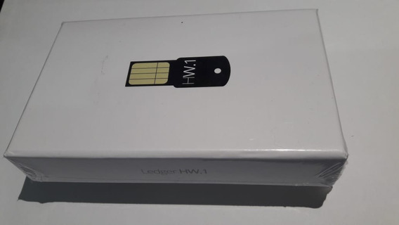 Ledger Hw1 - Carteira Bitcoin Hw.1 Cold Wallet Carteira Fria