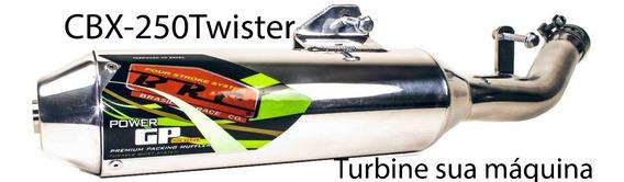 Brc Cbx-250 Twister 2001/2008 Ponteira Alumínio Coletor Aço