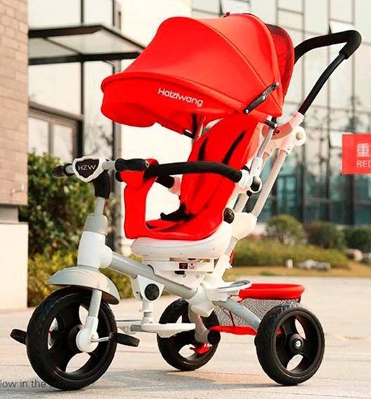 Triciclo Bebé Gts 360 Rebatible Y Reclinable Con Mp3
