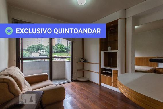 Studio No 7º Andar Com 1 Dormitório E 1 Garagem - Id: 892951986 - 251986