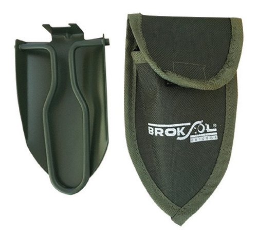 Pala Mini Broksol Plegable Funda Camping Montaña Pal-04
