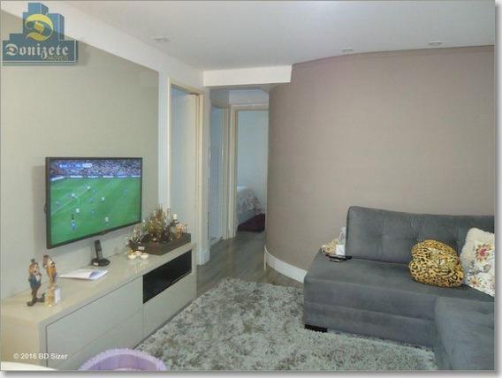 Apartamento Com 2 Dormitórios À Venda, 48 M² Por R$ 349.900,00 - Centro - Santo André/sp - Ap6443