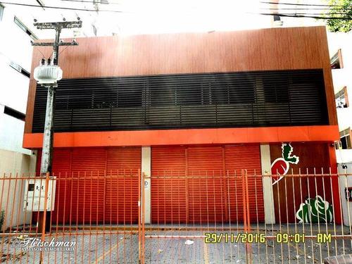 Imagem 1 de 30 de Prédio Para Alugar, 594 M² Por R$ 11.000,00/mês - Encruzilhada - Recife/pe - Pr0009