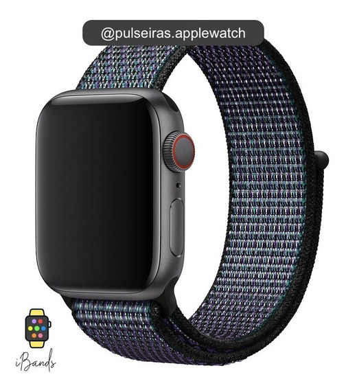 Pulseira Loop Esportiva Nike Apple Watch Várias Cores