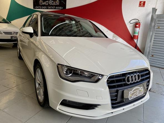 Audi A3 1.8 Tfsi Ambition S-tronic 4p 2015 Completo Linda !!
