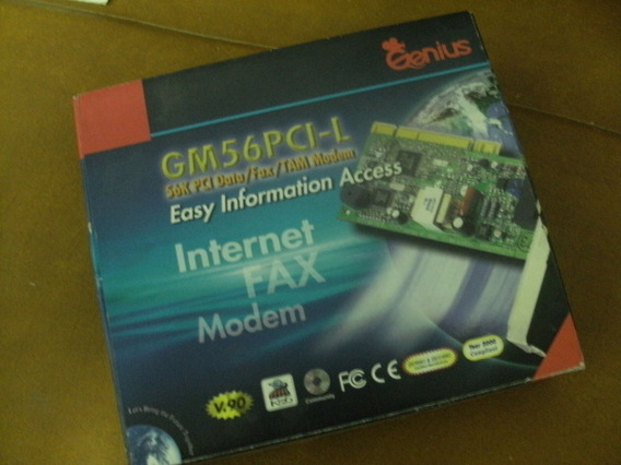 Modem Fax Internet Genius Gm56pci-l