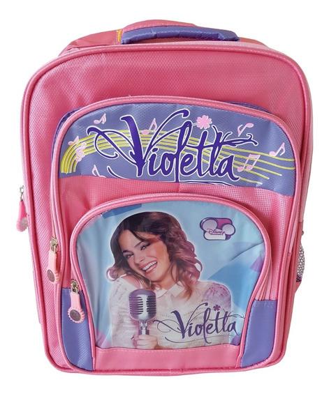 Mochila Violetta Ideal Vuelta A Clases Mod Varios