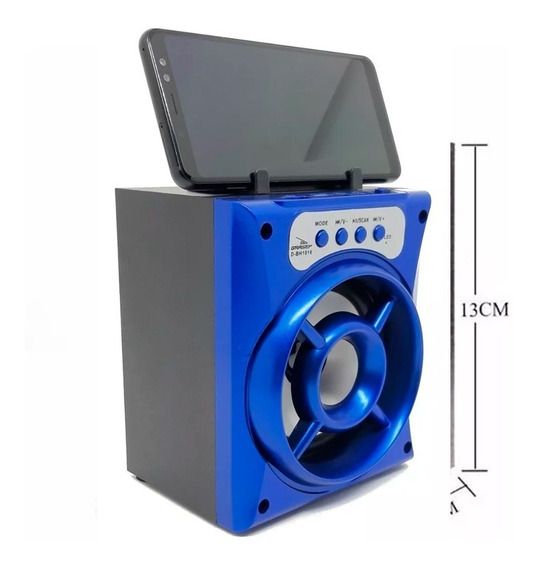 Caixa Som Bluetooth Amplificada Torre Usb Sd Mp3 Fm Auxilia