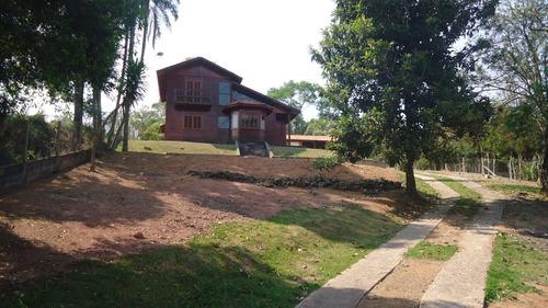 Casa Madeira/alvenaria Em Condomínio