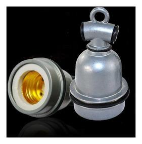 Bocal Lâmpada E27 Resistente Água Externo Granja Sítio Varal