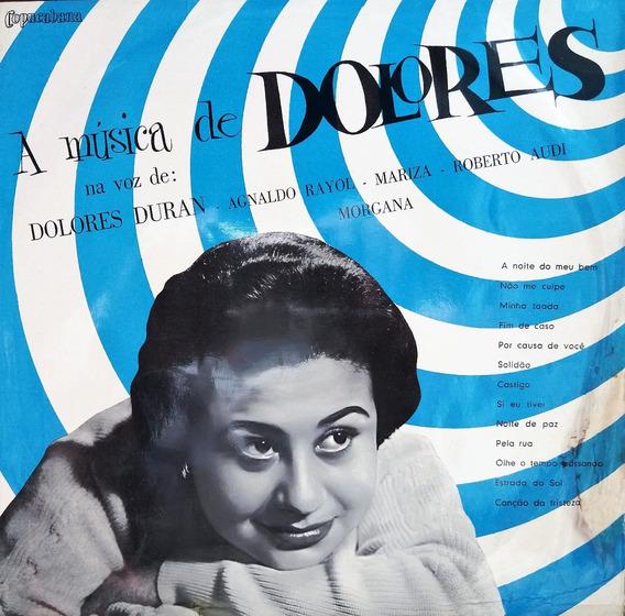 Dolores Duran - A Música De Dolores Importado Lp Bra@