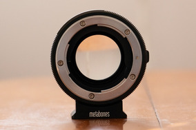 Metabones Nikon F Para Sony E-mount Speed Booster Ultra