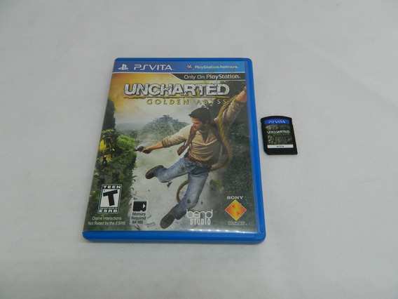 Uncharted Golden Abyss Ps Vita - Original Psvita