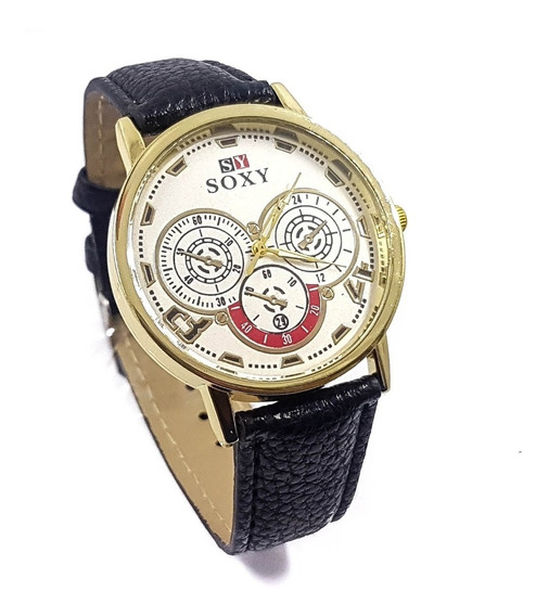 Reloj Caballero Elegante Estilo Vintage Moda Promo