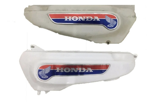 Imagen 1 de 10 de Emblemas Honda 50 En Chapa! Como Venia Original! + Regalo