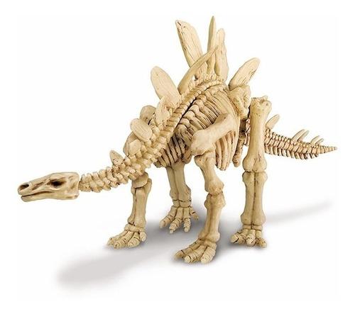 Kidzlabs Excava Y Juega Esqueto De Estegosaurio - Dinosaurio