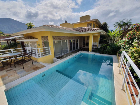 Casa Com 4 Dorms, Condomínio Lagoinha, Ubatuba - R$ 1.6 Mi, Cod: 500 - V500