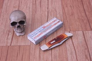 Canivete Case Folding Hunter Knife 5.25 Autumn Harvest