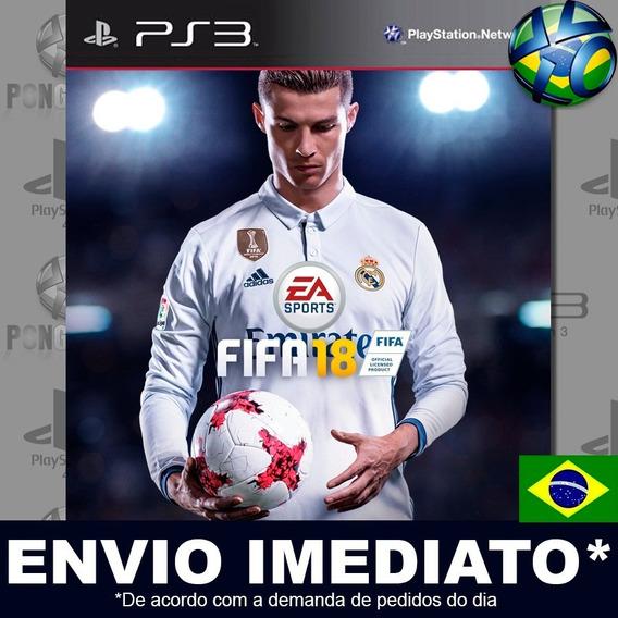 Fifa 18 Fifa 2018 Ps3 Psn Dublado Português Pt Br Promoção