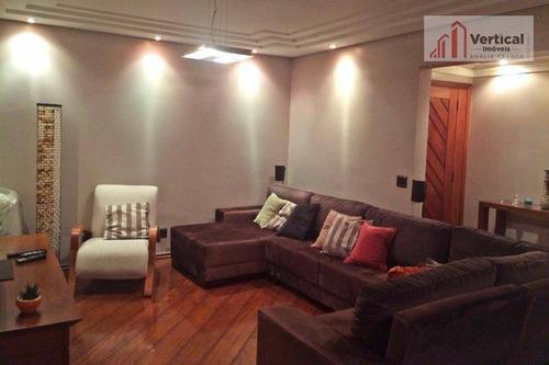 Apartamento Com 4 Dormitórios À Venda, 147 M² Por R$ 800.000,00 - Anália Franco - São Paulo/sp - Ap3195