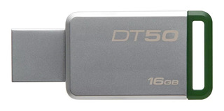 Memoria Usb 3.0 Kingston 16 Gb Metal Dt50 Factura Legal