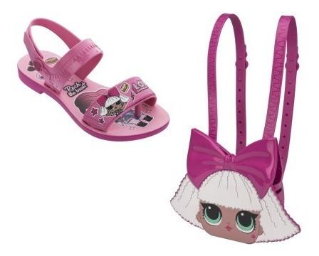 Sandália Infantil Grendene Lol Diva Bag 22117 - Maico Shoes