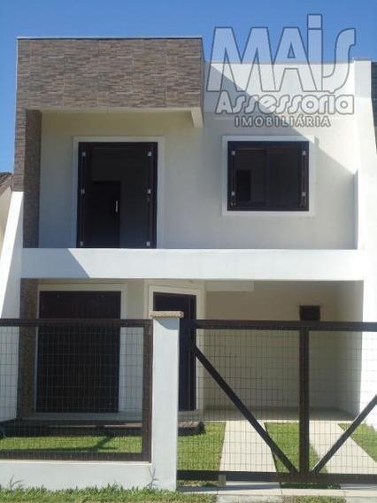 Sobrado Para Venda Em Arroio Do Sal, São José, 3 Dormitórios, 1 Suíte, 3 Banheiros, 1 Vaga - Cvsl001_2-608936
