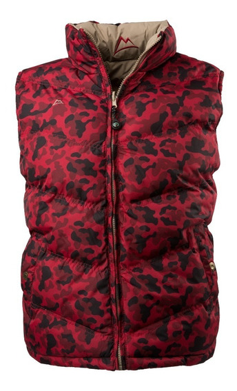 Chaleco Icy Denver Doble Vista Ve120517-15 Camuflajeburgundy