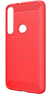 Funda + Cristal Motorola Tpu Carbon Protector Uso Rudo