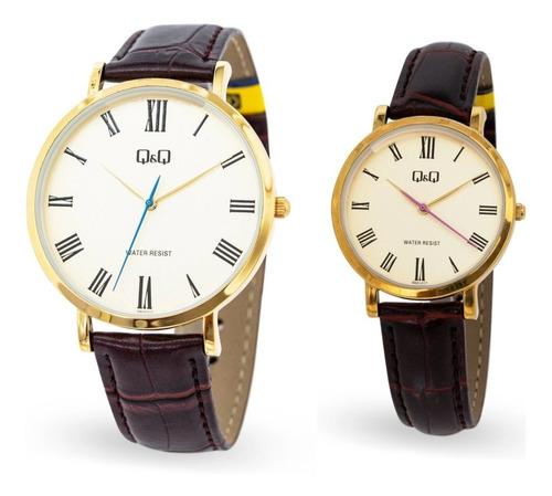 Regalo Pareja, Reloj Q&q Original