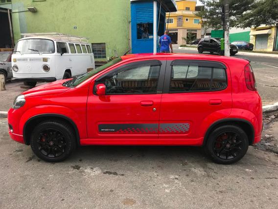 Fiat Uno Sporting 1.4, Vermelho