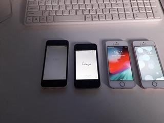 4 iPhone Funcionando - Se 5s 5c E 4s