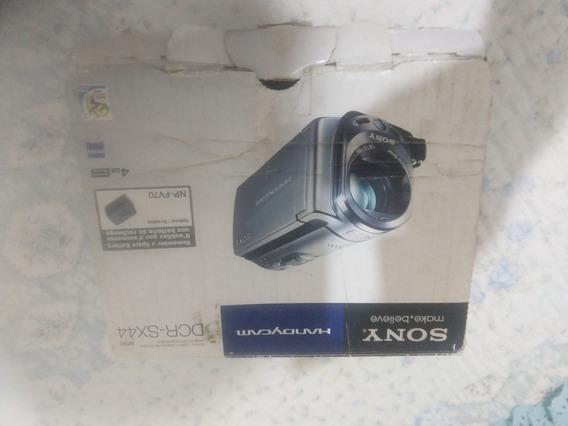 Filmadora Digital Sony Dcr-sx44 4gb Na Caixa Top