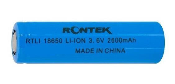 Bateria Recarregável Li-ion 3,6v 2600mah - Emb. 2 Peças