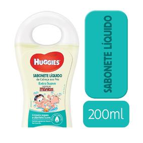 Sabonete Líquido Huggies Extra Suave - 200ml