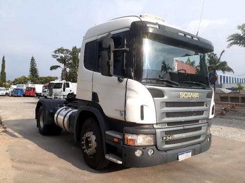 Scania P340 2010 4x2 Bronzina Feita Na Codema Ar Condicionad