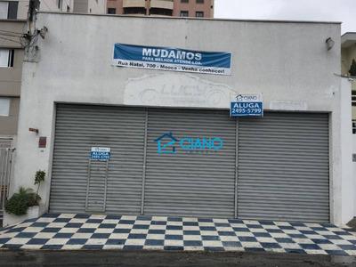 Galpão Comercial Para Locação, Mooca, São Paulo. - Ga0094