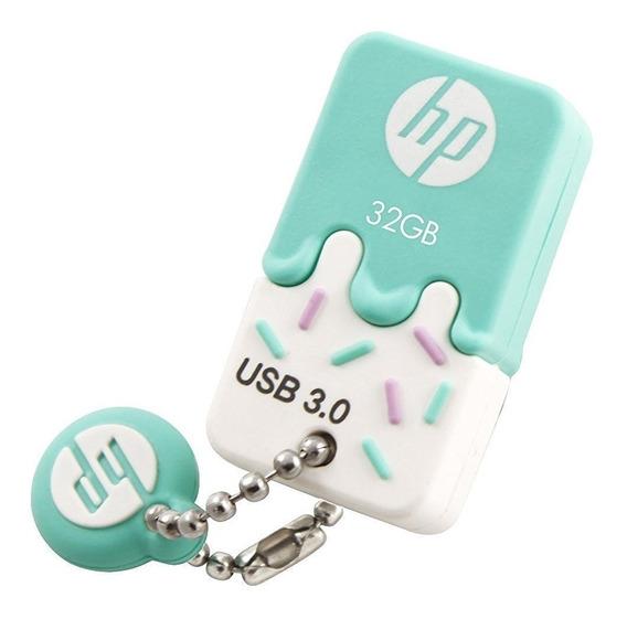 Pendrive Hp X778w 32gb Usb 3.1 Ice Cream 3.0 Hpfd778b-32