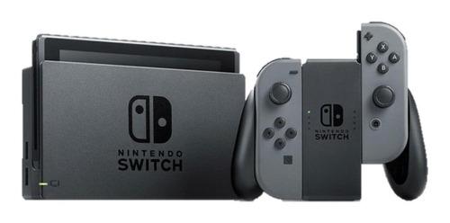 Imagem 1 de 3 de Nintendo Switch 32GB Standard cor  cinza e preto