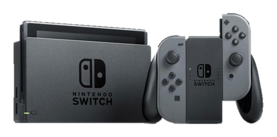 Nintendo Switch 32GB Standard cinza/preto