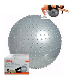 Bola Suíça Massageadora 65cm Liveup Antiestouro Massagem