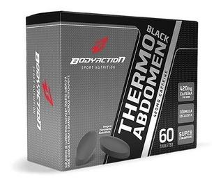 Thermo Abdômen Black 60 Caps - Melhor Termogênico Bodyaction