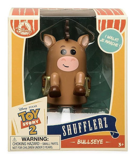 Disney Store Toy Story Bullseye Camina A Cuerda En Stock!