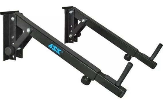Suporte Para Slat Wall Mixer / Teclado Wtm Suporta 15kg Par