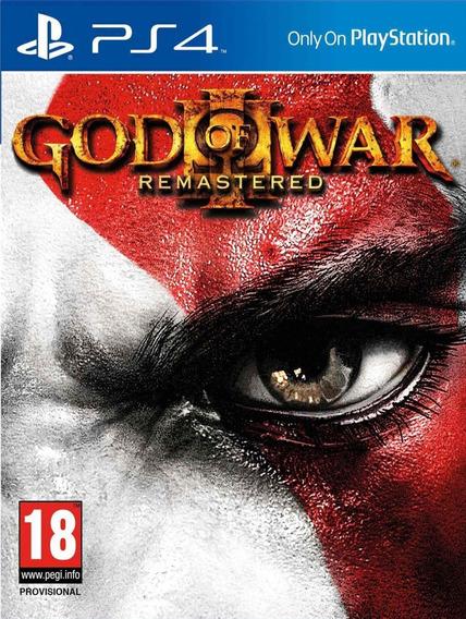 God Of War 3 Remastered Ps4 Original 1 - Jogo Vitalicio
