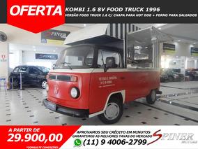 Volkswagen Kombi 1.6 Food Truck C/ Chapa Para Hotdog + Forno