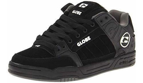 Zapato De Skate Inclinado Para Hombre Globe, Negro /negro