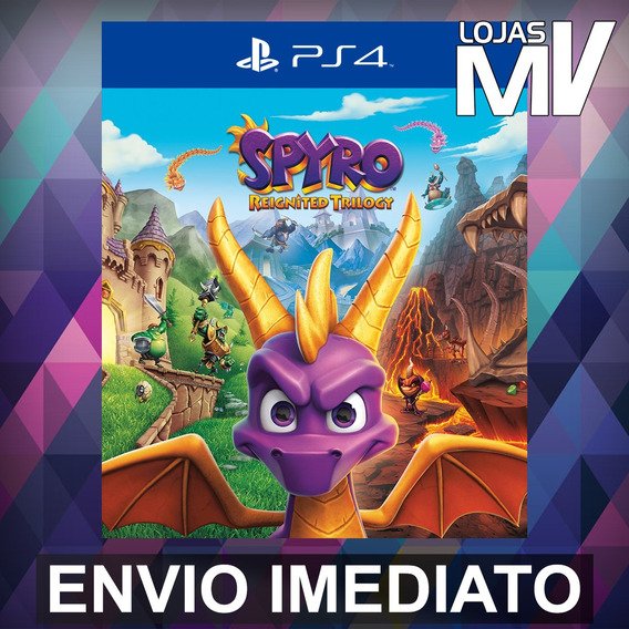 Spyro Reignited Trilogy - Ps4 Código 12 Dígitos