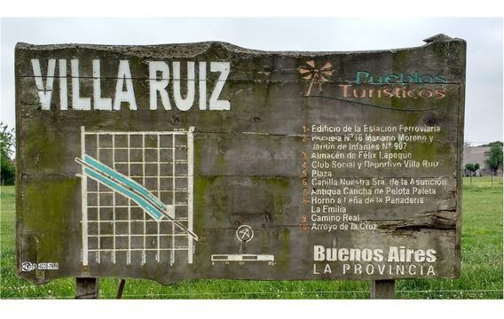 Lotes - Vende - Villa Ruiz -san Andres De Giles